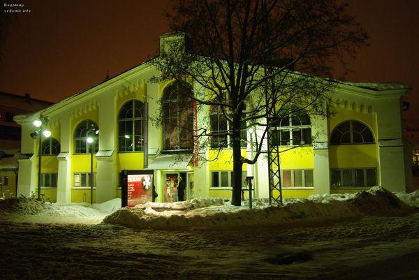 ночной Хельсинки фотографии