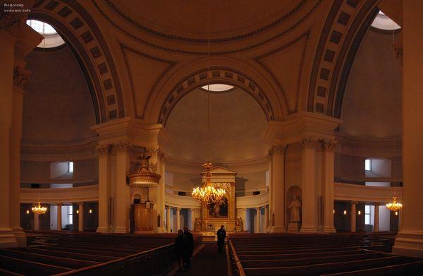 кафедральный собор хельсинки панорама