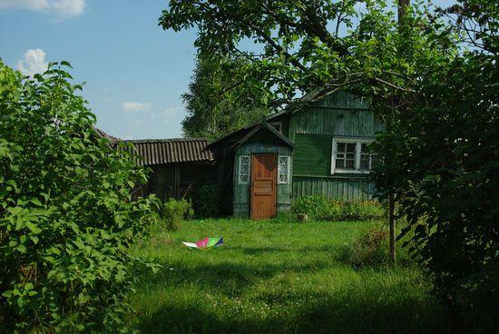 прогулка по русской деревне