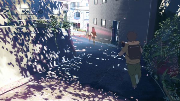 кадры Макото Синкай 5 сантиметров в секунду