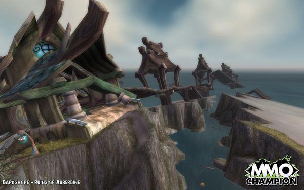 WoW Катаклизм Cataclysm скриншоты кадры