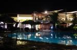 Греция, Кос, отель Kipriotis Village ночью