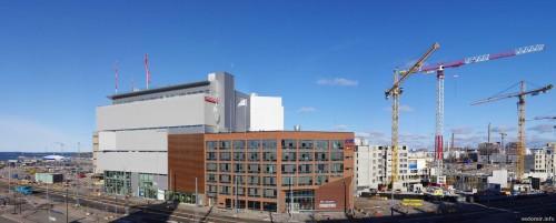 Панорама нового термина в Хельсинки