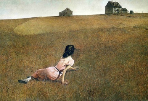 Эндрю Уайетт Мир Кристины Andrew Wyeth Christina's World (1948)