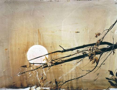 Эндрю Уайет Full Moon 1980
