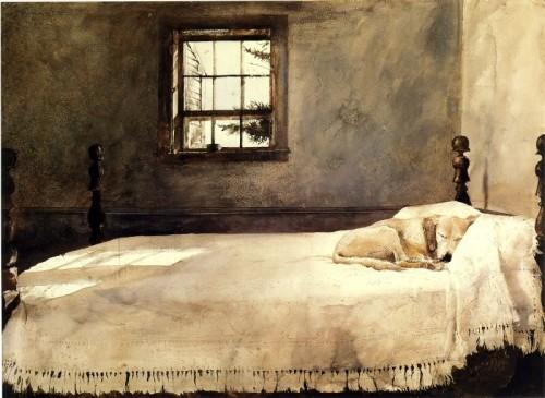 Эндрю Уайет Master Bedroom 1965