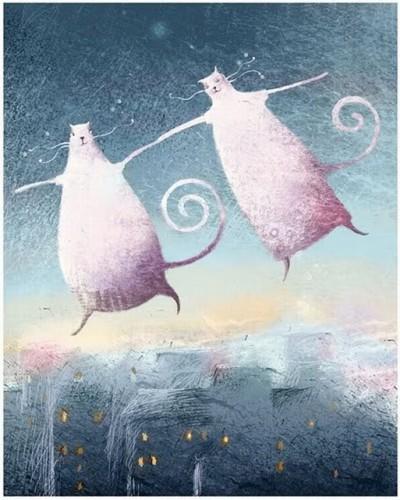 кошки над городом