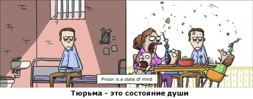 Тюрьма - это состояние души