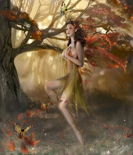 Линда Бергквист (Linda Bergkvist) Осенние шепотки (Autumn Whisperlings)